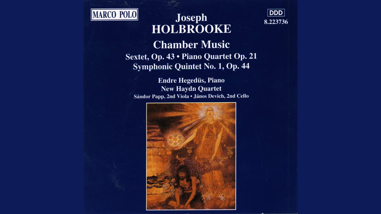 43 Henry String Sextet In D Major Op 43 Henry Vaughan Ii Andantino