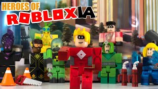 #Robloxtoys HEROES OF ROBLOXIA Game pack Unboxing/with code item/ Opening new toys from Jazwares