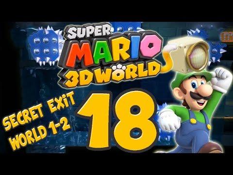 Let's Play Super Mario 3D World Part 18: Secret Exit in World 1-2!