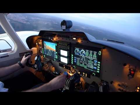 Decolagem Piper PA-34-220T Seneca V PR-FCL de Bauru - SBBU