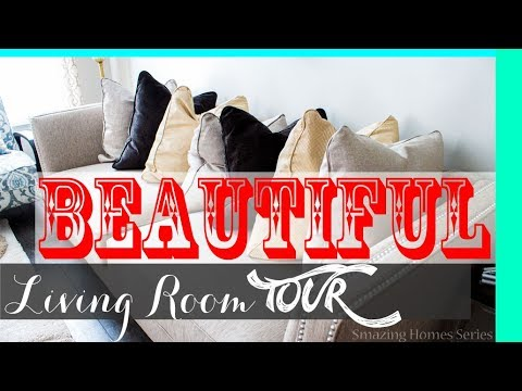 Tips: Decorate Living Room Tour 2017 Video 😍: Smazing Home