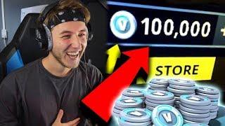 ZO KRIJG JE GRATIS 100.000 V-BUCKS!