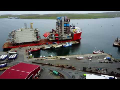 Orbit of Heavy Lift Ship Forte