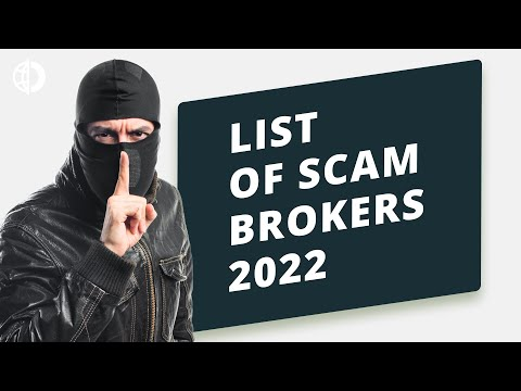 Forex trading scams - List of scam brokers 2021
