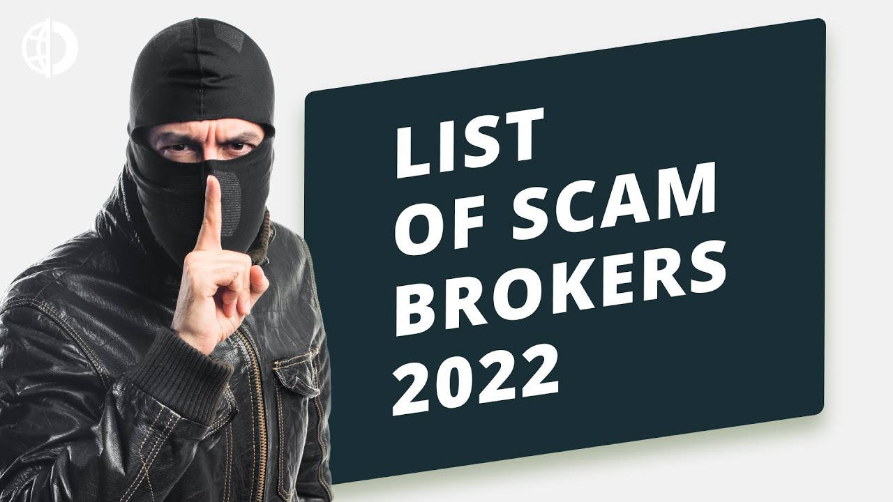 Forex trading scams  List of scam brokers 2021