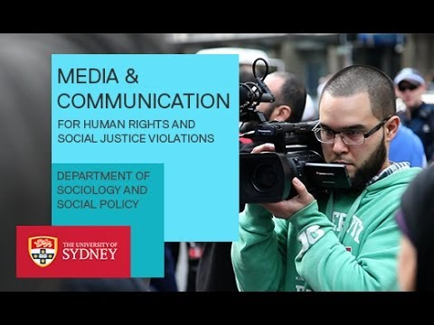 Media and Communication for Human Rights & Social Justice