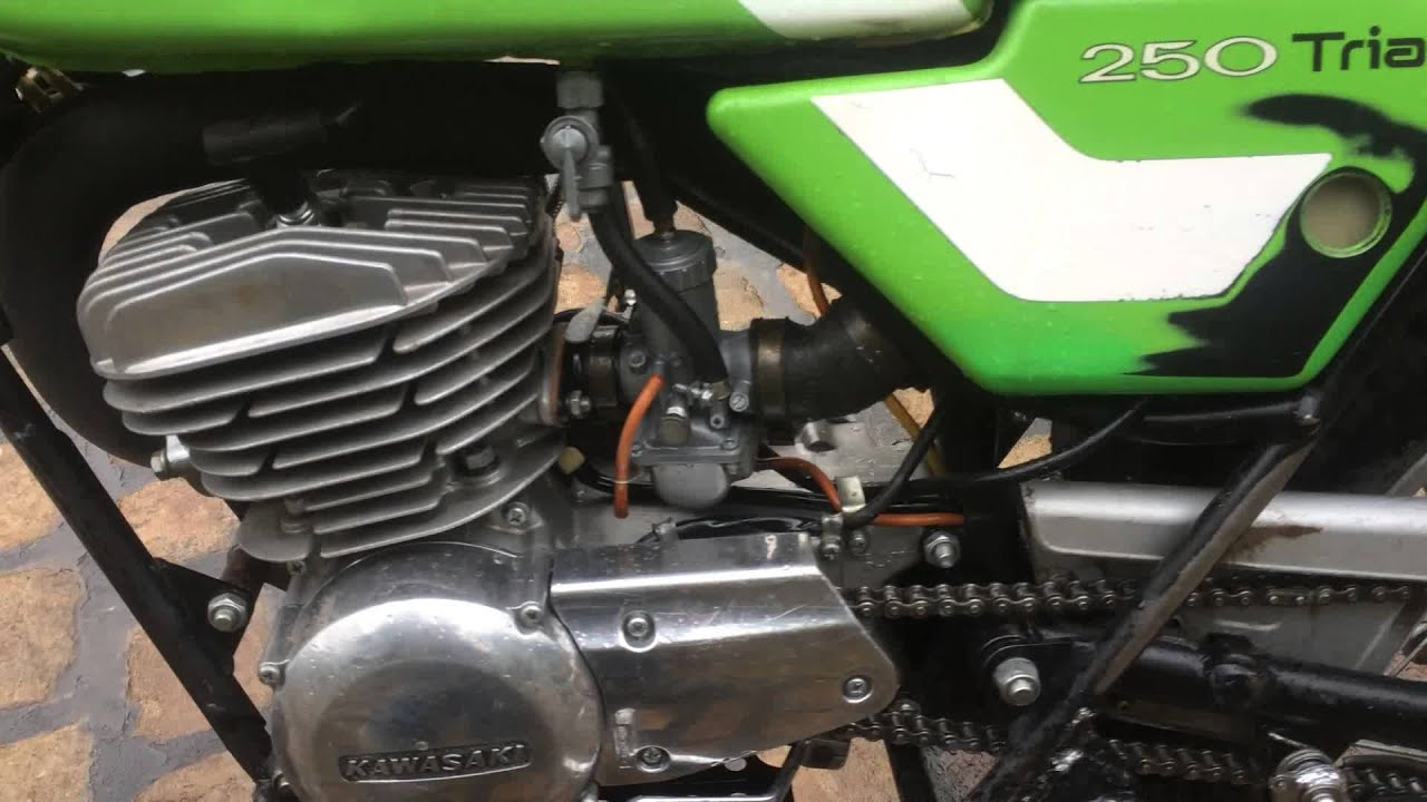 Kawasaki KT 250 twinshock trials bike 1975 for sale on eBay
