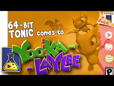 قريبا لعبة yooka - Laylee برسوم أجهزة ال 64 بت