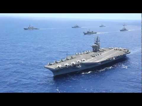 Canada Department of National Defence - RIMPAC 2012 Fleet Show Of Force [720p]