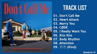 [Full Album] S H I N ee (샤이니) - Don't Call Me