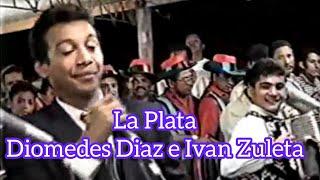 LA PLATA-DIOMEDES DIAZ E IVAN ZULETA EN VALLEDUPAR 1995