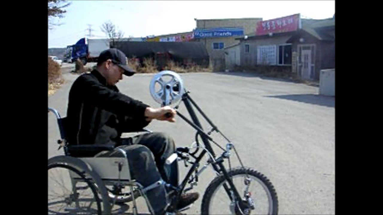 Electric bike adaption for wheel chair youtube - Electric Bike Adaption For Wheel Chair Youtube 3