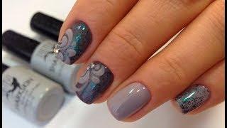 Дизайн ногтей гель лаками Tartiso SHARKSKIN
