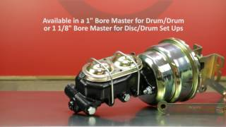 1954 - 1972 Ford Full Size Booster Master Video by Master Power Brakes