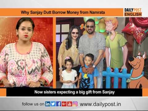 Know Why Sanjay Dutt Used to Borrow Money from Sister ...