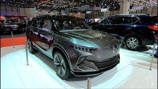 SSANG YONG E-SIV CONCEPT CAR FULL ELECTRIC SUV SSANGYONG E SIV WALKAROUND