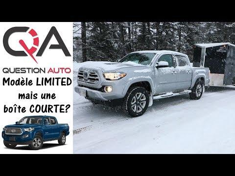 2018 Toyota Tacoma Limited | Petite boîte mais AGILE | Revue rapide