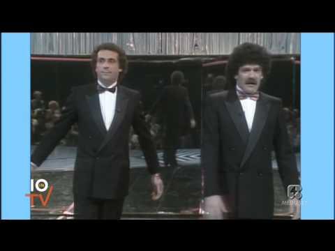 Gigi e Andrea Premiatissima 1983 sketch mago e il figlio di Fangio