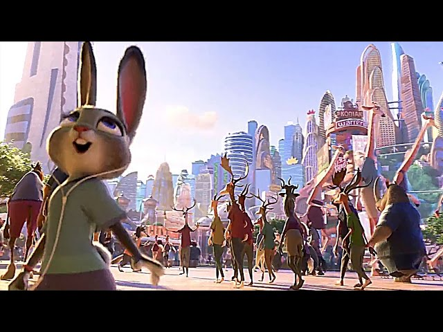 Zootopia: Arrival Scene - Tappable Pictionary with animals