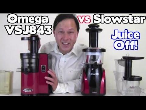Omega VSJ 843 vs SlowStar Juicer Comparison Review - Juicing Carrots