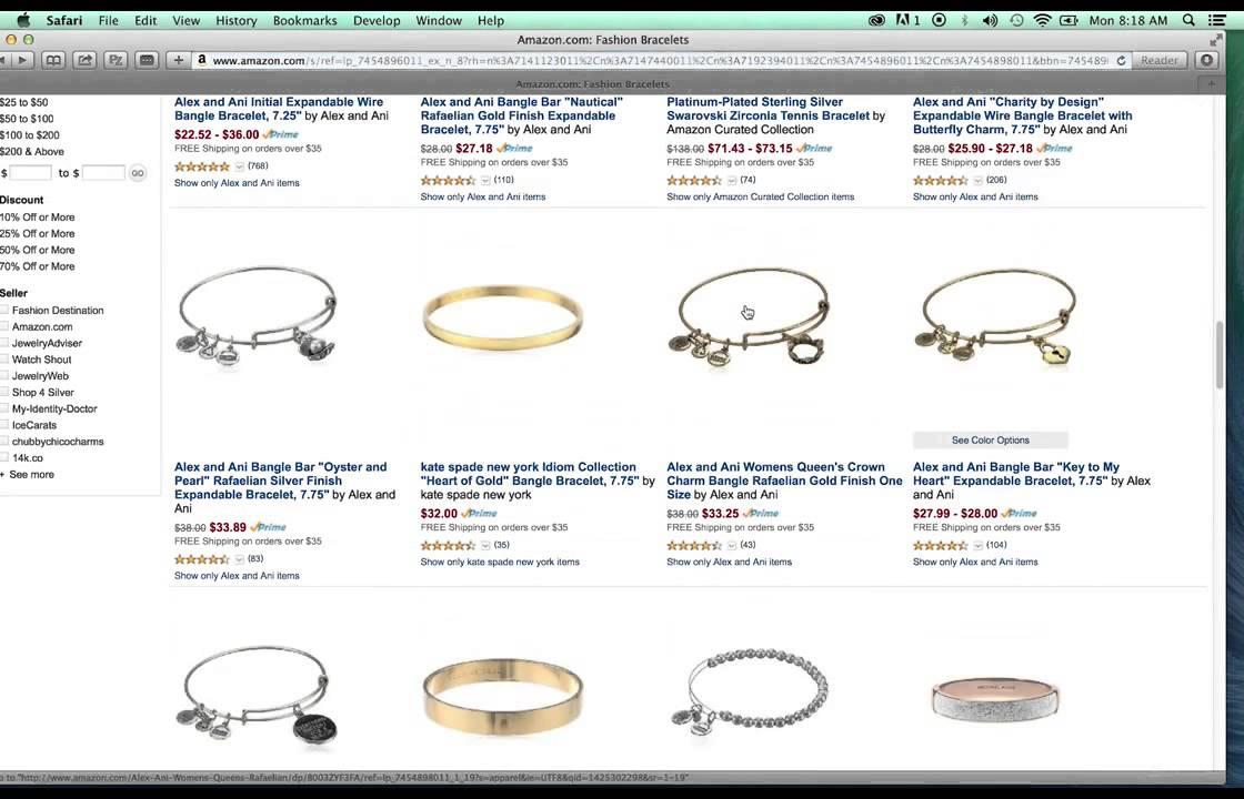 Amazon Fashion Jewelry Approval