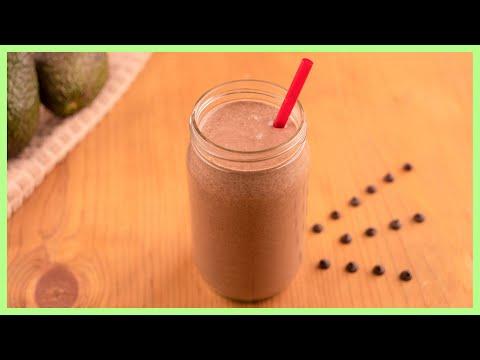 How To Make A Chocolate Avocado Smoothie | Chopped Keto Style