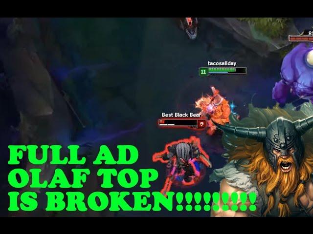 FULL AD IN THE TOP LANE [FULL AD OLAF]