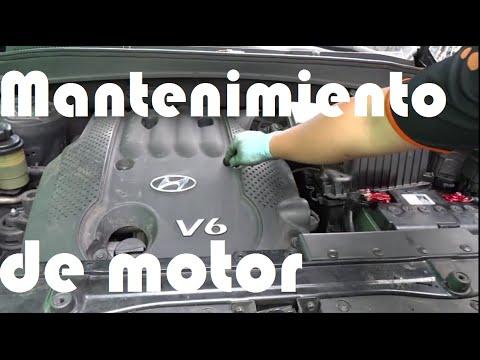 2016 Hyundai Santa Fe >> Mantenimiento Motor Hyundai Santa Fe. - YouTube