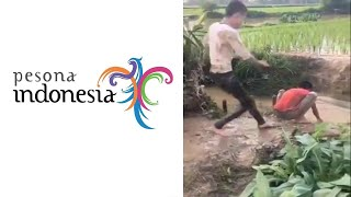 MEME PARODI PESONA INDONESIA | EDISI KEPELESET | LUCU NGAKAK BANGET