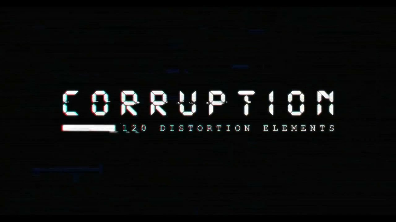 Corruption: 4K Video Distortion Elements | RocketStock.com ... Rocketstock