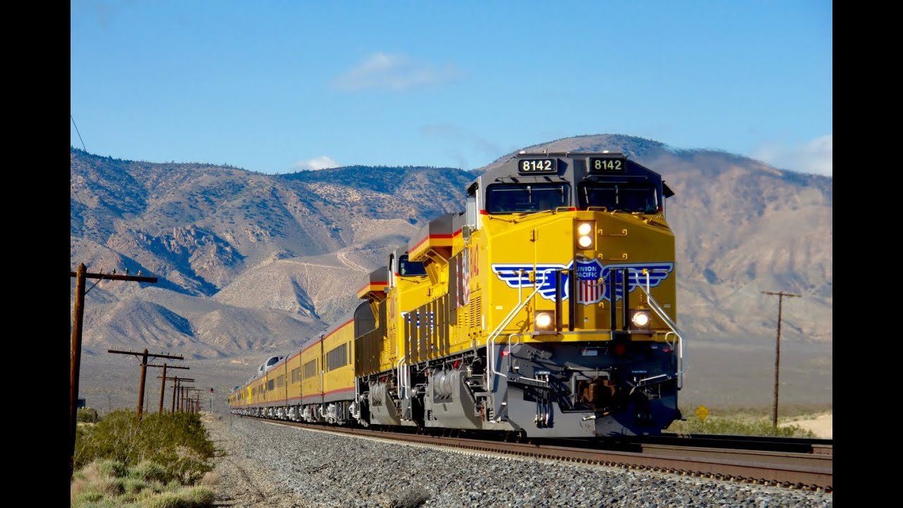Union Pacific 19 Car Business Special Youtube