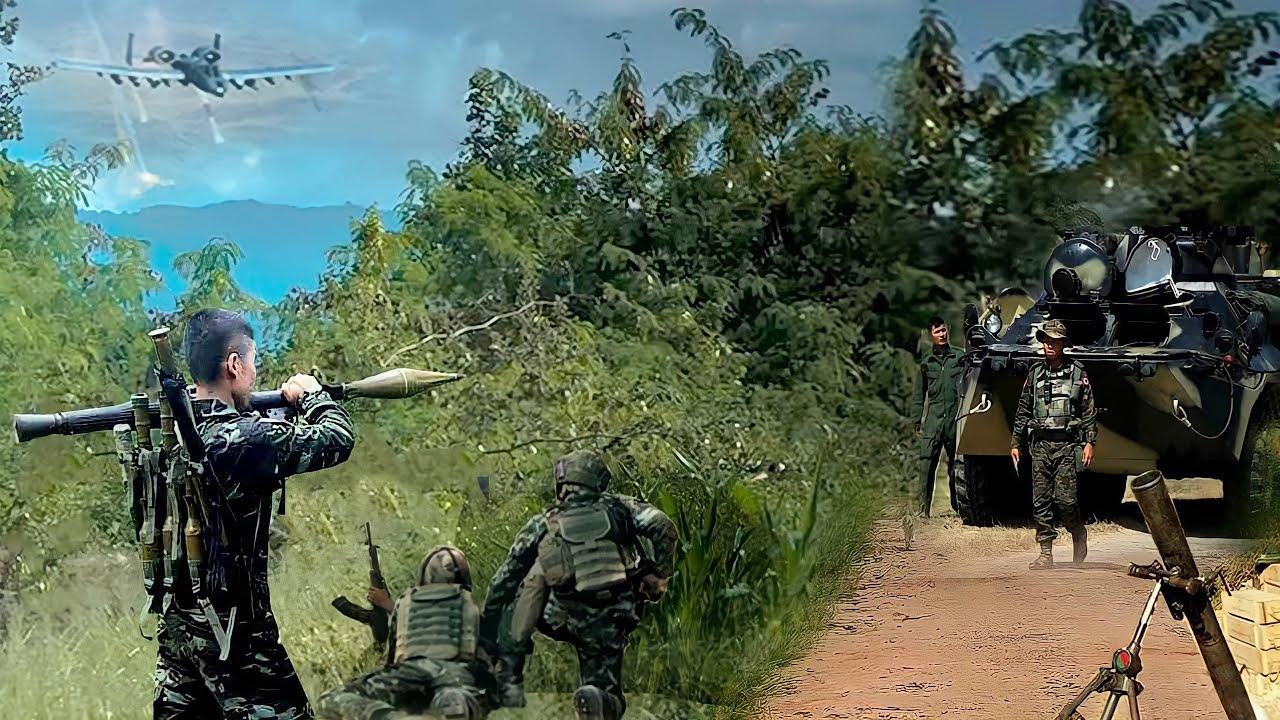 รัฐชินปะทะเดือด/CDFถล่มทหารพม่า ดับทันที 4 นาย/ทหารมิ่นอ่องลาย หนีแทบไม่ทัน