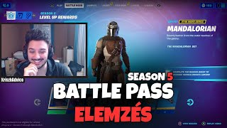 ITT AZ ÚJ SZEZON! | BATTLE PASS ELEMZÉS | CHAPTER 2 SEASON 5 (Fortnite Battle Royale)