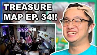 TREASURE MAP EP.34 REACTION!!