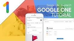 So funktioniert Google One / Das Große Tutorial (Google Life #21)