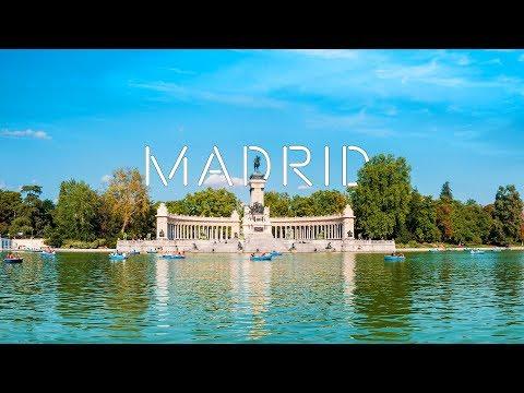 MADRID 4k |  La ciudad que te abraza