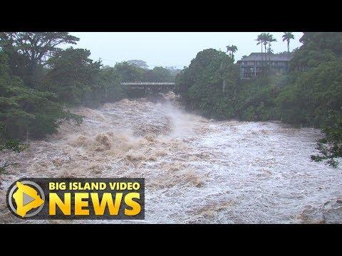 Hurricane Lane Flooding In Hilo (Aug. 23, 2018)