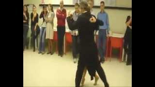Ertuğrul Yılmaz & Reyhan Yılmaz - Tango Workshop