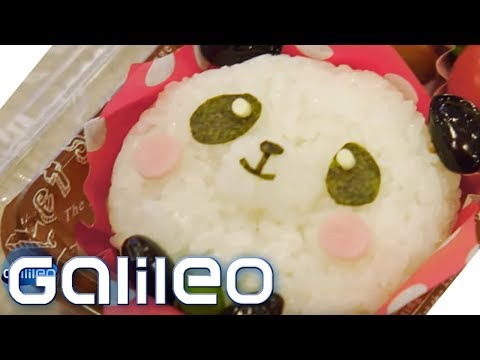 Bento Box: So süß essen Kinder in Japan | Galileo | ProSieben