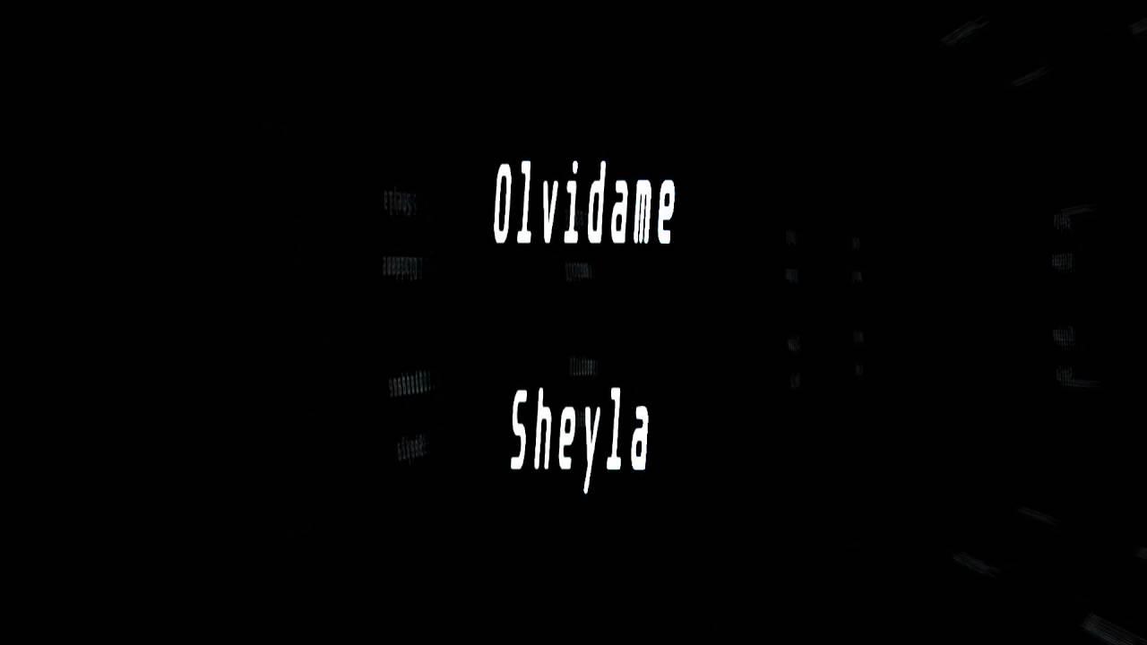 Karaoke-Olvidame-Sheyla