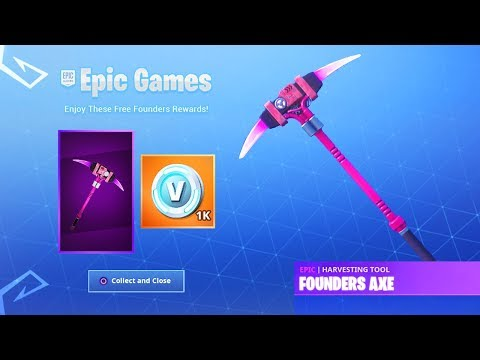 How To Unlock New Fortnite FOUNDERS REWARDS! (New Fortnite Free Founders Skins) thumbnail