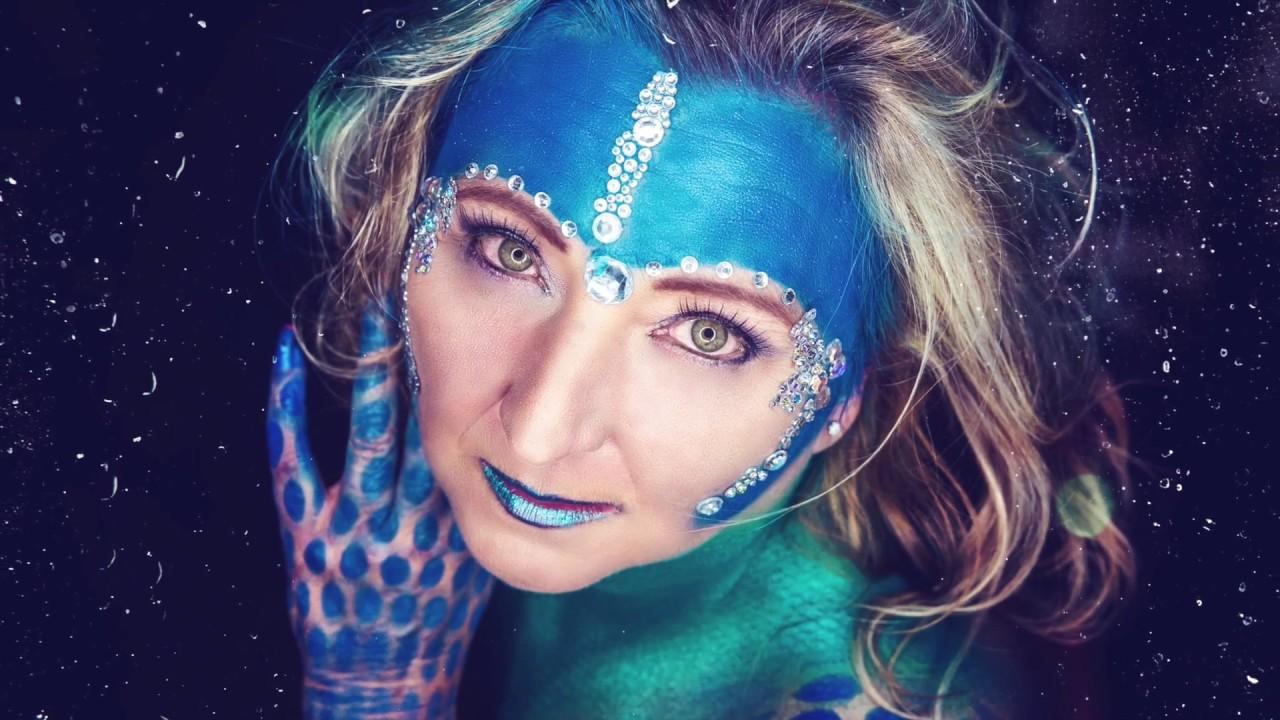 Making Of Extrem Make Up Fotoshooting Youtube