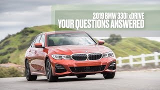 homepage tile video photo for 2019 BMW 330i xDrive: We Answer Your Questions