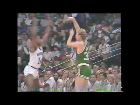 Larry Bird Candid Clips 1986 Season