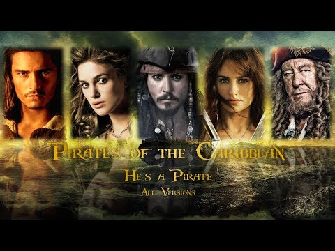 """""""He's a Pirate"""" Pirates of the Caribbean Mash-Up (All Versions)"""