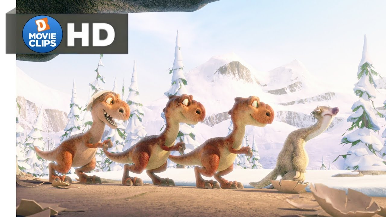 Download Ice Age 3 Hindi (04/18) Sid Got T-Rex Baby Funny Scene MovieClips