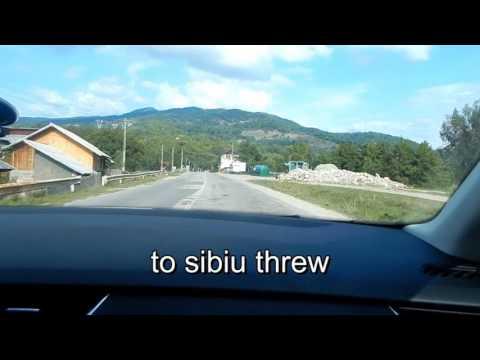 רומניה 1 היום הראשון bucharest . pitesti road c7 טרנשפרגרשן לסיביו לכפר סיבל