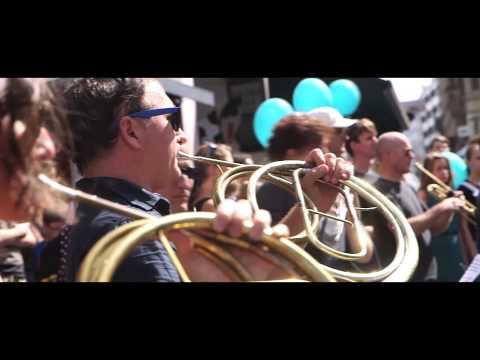 Kammerorchester Basel Flashmob 2014