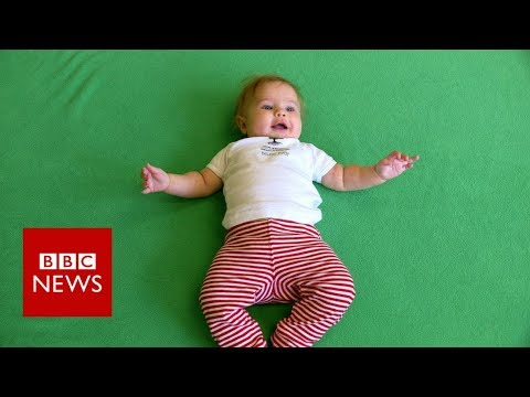 The Babies Teaching Kindness in Class - BBC News
