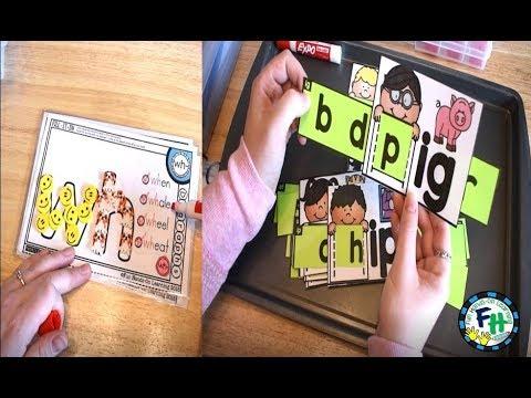 Phonics Activities for Kindergarten & First Grade - YouTube